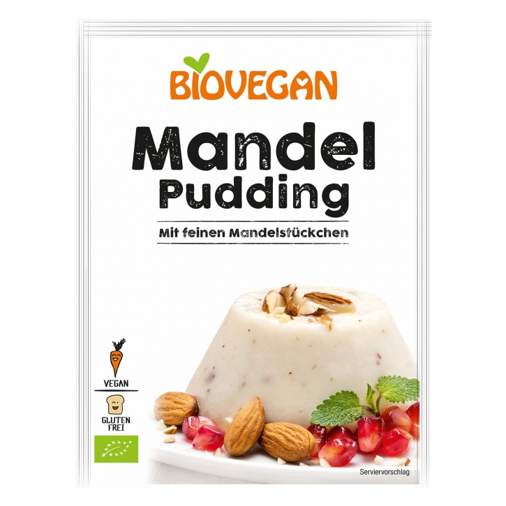Biovegan PARADIES PUDDING Mandel, 49g