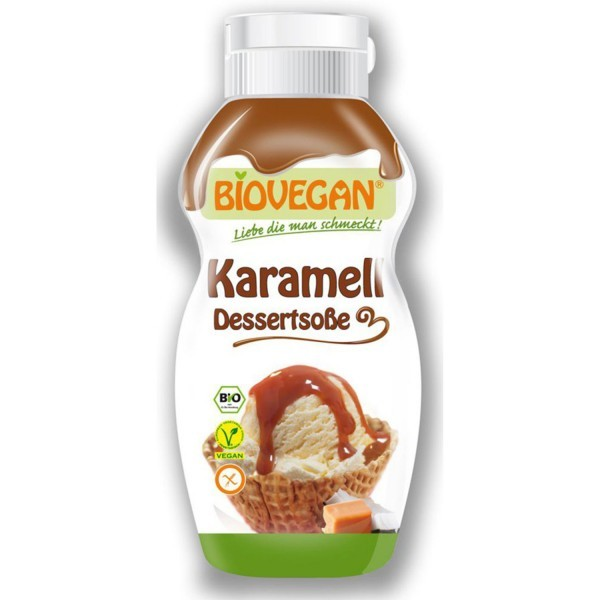 Biovegan DESSERTSOSSE Karamell, 250g