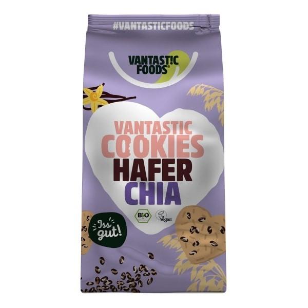 Vantastic foods VANTASTIC COOKIES Hafer-Chia, BIO, 125g