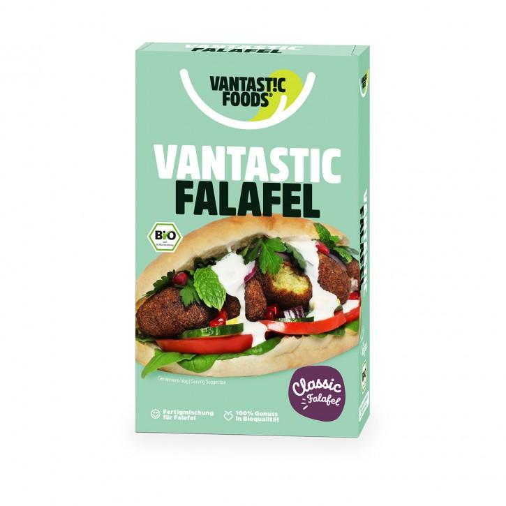 Vantastic foods FALAFEL FIX Falafel Pulver Original, BIO, 160g