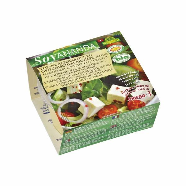 Soyana SOYANANDA Vegane Alternative zu griechischem Käse Natur, BIO, 200g