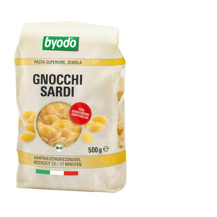 Byodo GNOCCHI SARDI semola, BIO, 500g