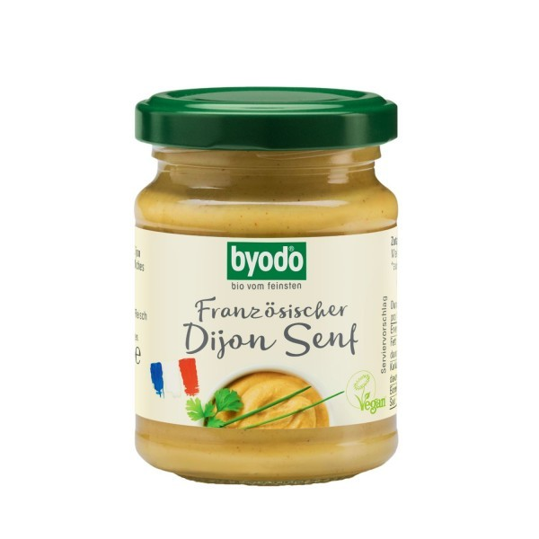 Byodo DIJON SENF (scharf), BIO, 125ml