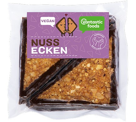 Vantastic foods Nussecken, 150g