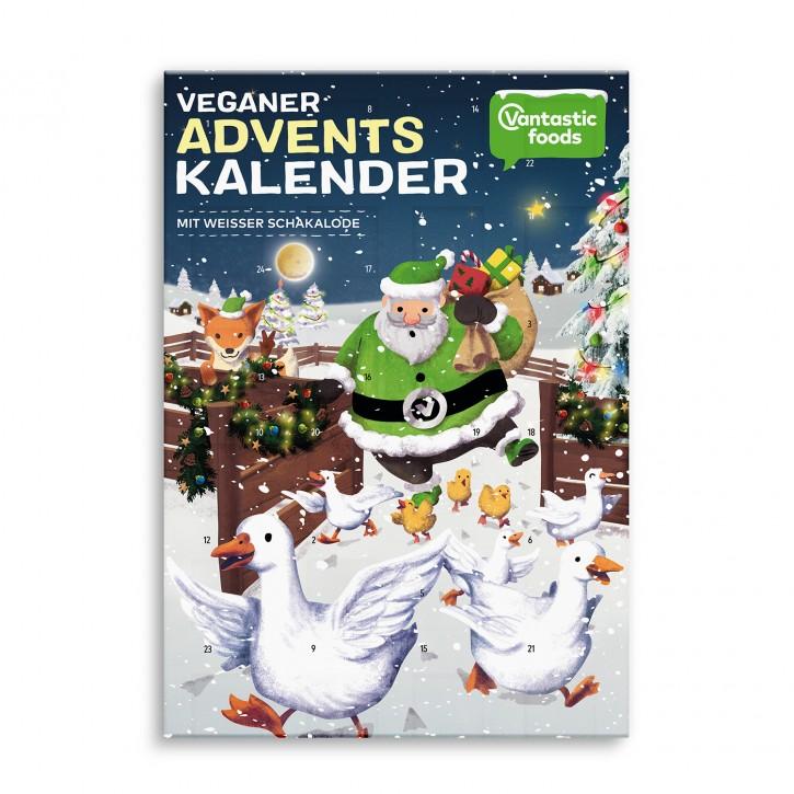 Vantastic foods VANTASTIC Schakalode Adventskalender weiss, 150g