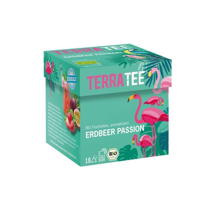 Terra Tee® ERDBEER PASSION Früchtetee, BIO, 45g (18 Beutel)