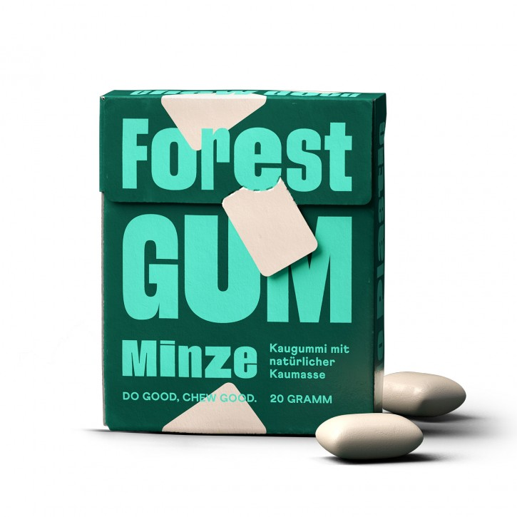 Forest Gum KAUGUMMI MINZE, 20g