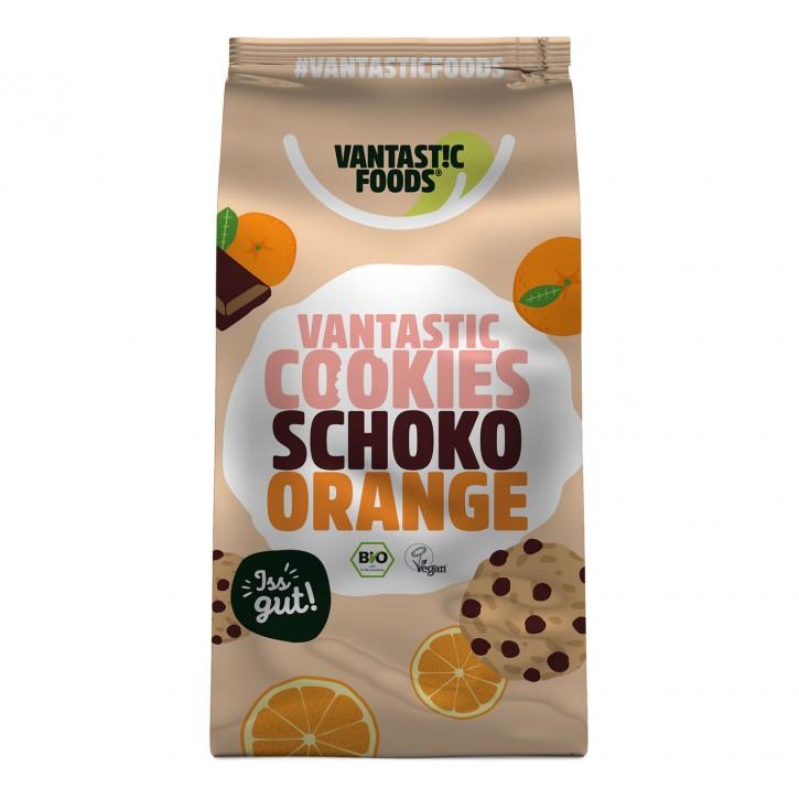 Vantastic foods VANTASTIC COOKIES Schoko-Orange, BIO, 125g