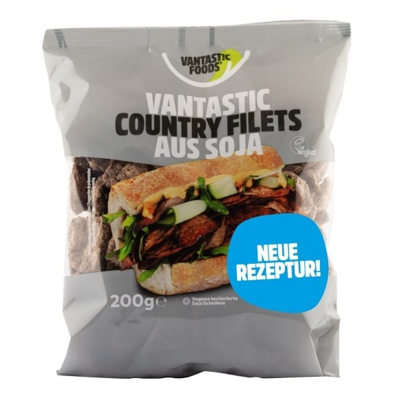 Vantastic foods SOYA COUNTRY FILETS, 200g