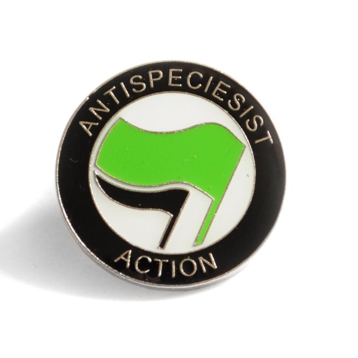 "Anstecker ""Antispeciesist Action"""