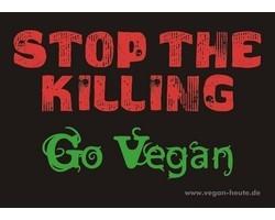 "Aufkleber ""Stop The Killing"""