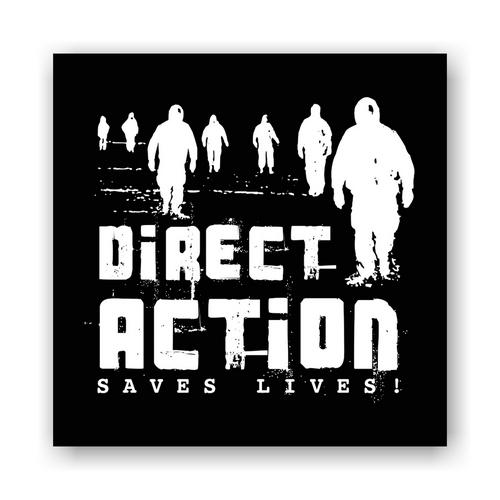 Aufnäher: Direct Action Save Lives