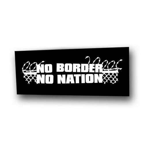 Aufnäher: No Border No Nation