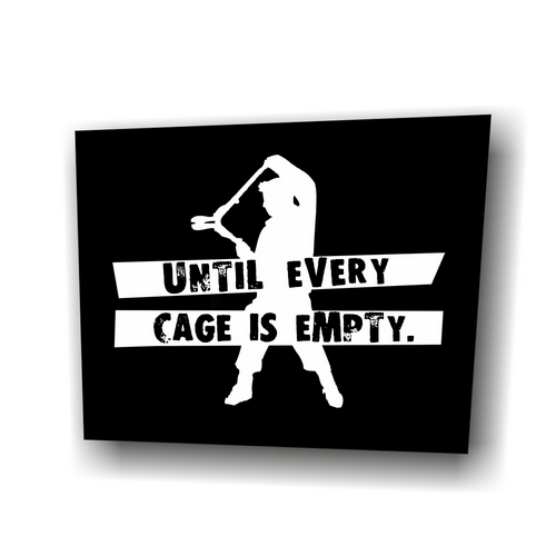 Aufnäher: Until Every Cage is Empty