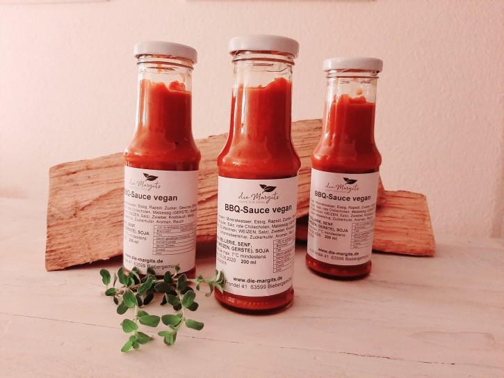 Die Margits – BBQ-Sauce Vegan, 250ml