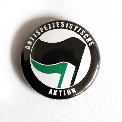 "Button ""Antispeziesistische Aktion"""
