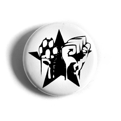 "Button ""Faust Pfote Stern"""
