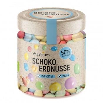 Schoko-Erdnüsse im Glas bio, 150g