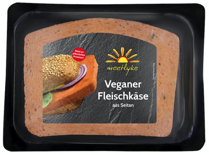 meetlyke Veganer Fleischkäse, 150g