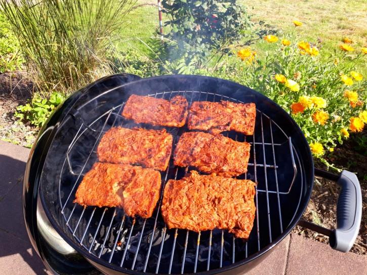 Die Margits – 4 Soja-Steaks Vegan & Glutenfrei, 480g  VERSAND LEIDER NUR INNERHALB DEUTSCHLANDS MÖGLICH!