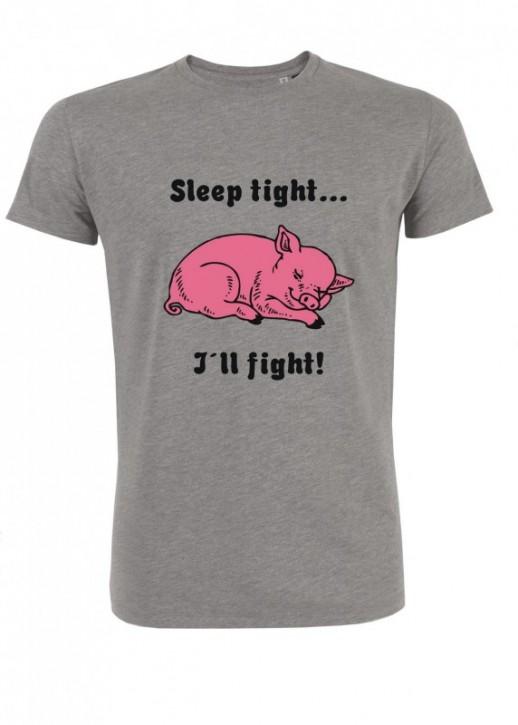 """T-Shirt """"Sleep tight - I`ll fight"""" Gr. XS"""