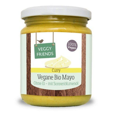 Vegane BIO Curry Mayonnaise, 225g