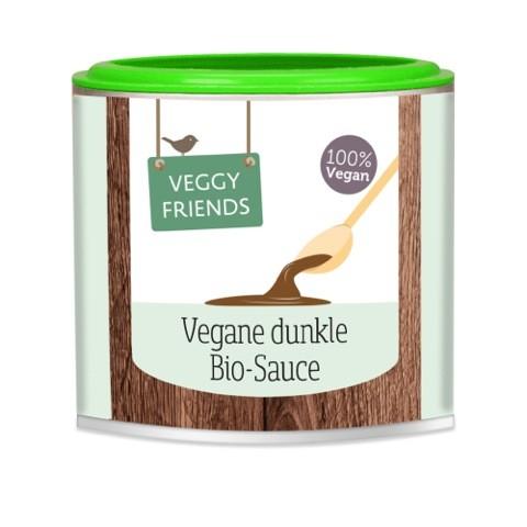 Veggy Friends Vegane BIO Dunkle Sauce, 125g