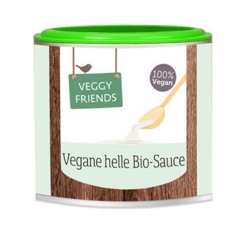Veggy Friends Vegane BIO Helle Sauce, 125g
