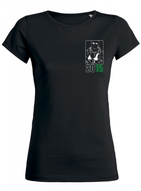 """Tailliertes Shirt """"Animal Liberation !NOW!"""" Gr. XS"""