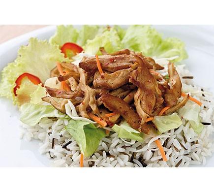 Vantastic foods VEGANE BBQ ENTE in Streifen, 600g
