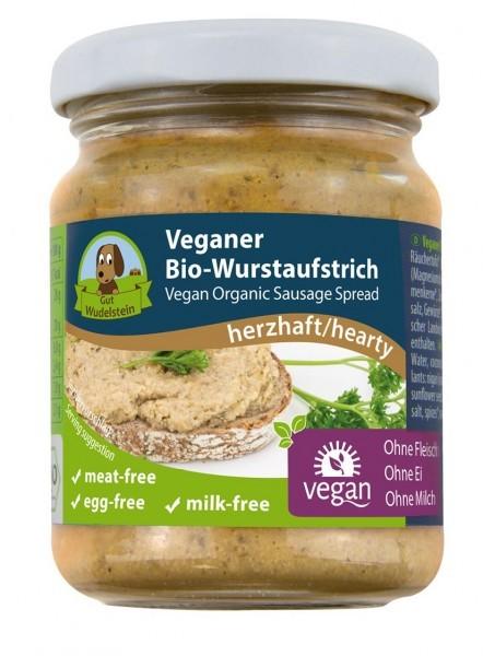 Gut Wudelstein Veganer Bio-Wurstaufstrich herzhaft, 120g