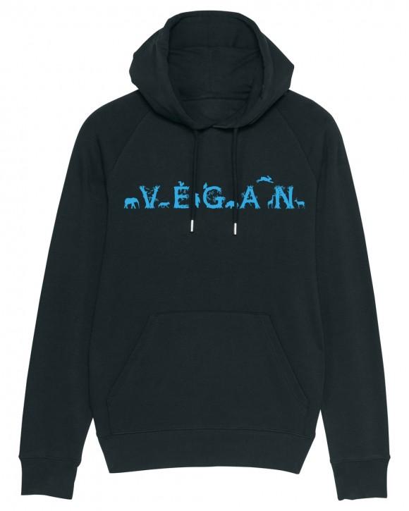 """Hoodie """"Vegan - Tiere"""""""
