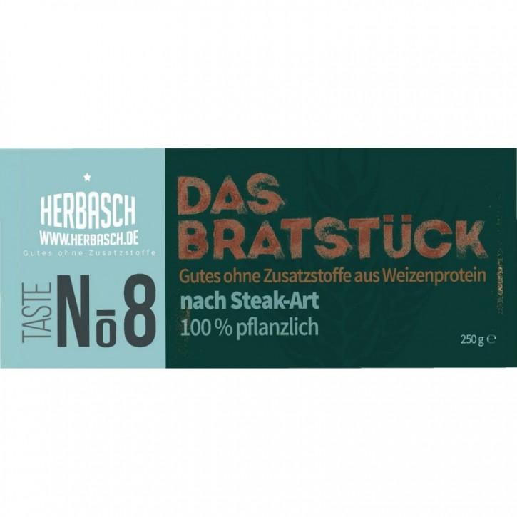 NO. 8 DAS BRATSTÜCK (NACH STEAK-ART), 250g