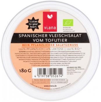 Spanischer Bio Vleischsalat vom Tofutier 180g