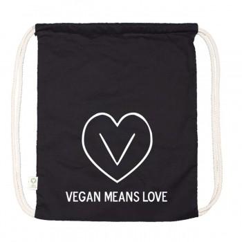 Allzweckbeutel - Vegan means love