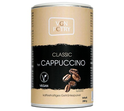 VGN FCTRY INSTANT CAPPUCCINO Classic, 280g