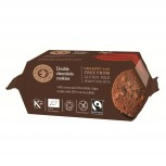 Bio Double Chocolate Cookies, glutenfrei 180g