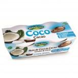 Bio Kokosnussdessert mit Kakao 2x125g